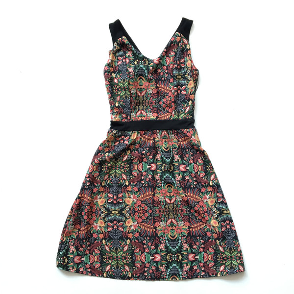 CHERRY BOBIN MONACO Floral Dress