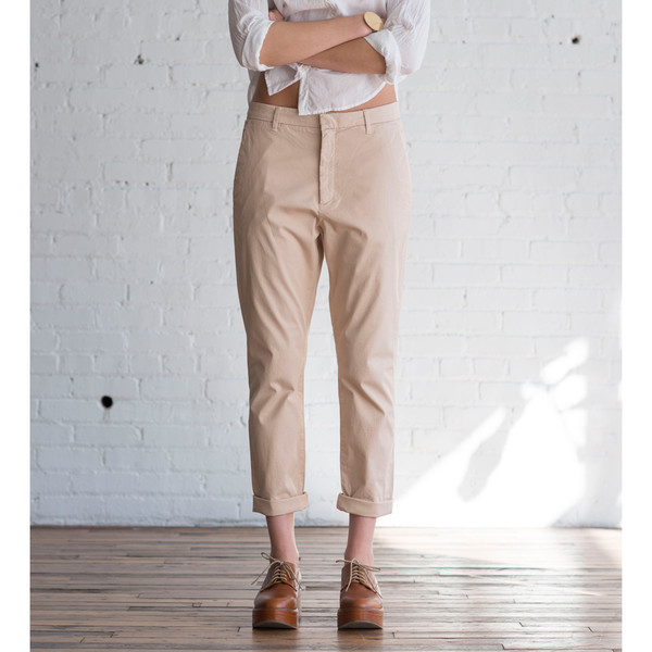 Hope News Trouser Light Orange