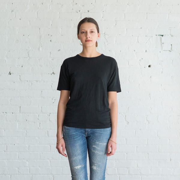 Isabel Marant Etoile Keiran Tee Black $145