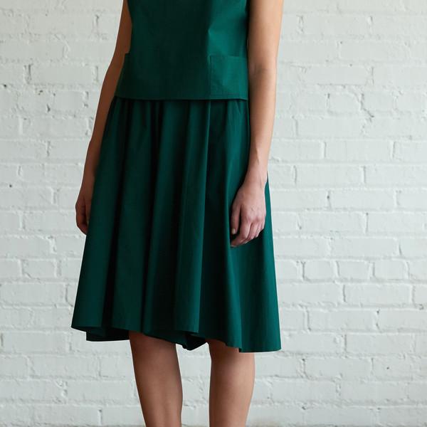 M.Patmos M. Patmos Herrera Poplin Split Skirt