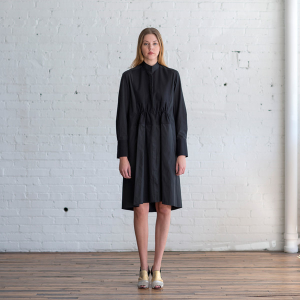 Tome Cotton Pique Shirtdress