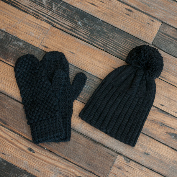 Ulla Johnson Mitten Black - SOLD OUT