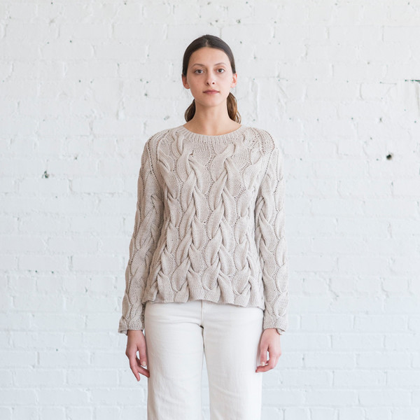 Ulla Johnson Rouen Cable Pullover
