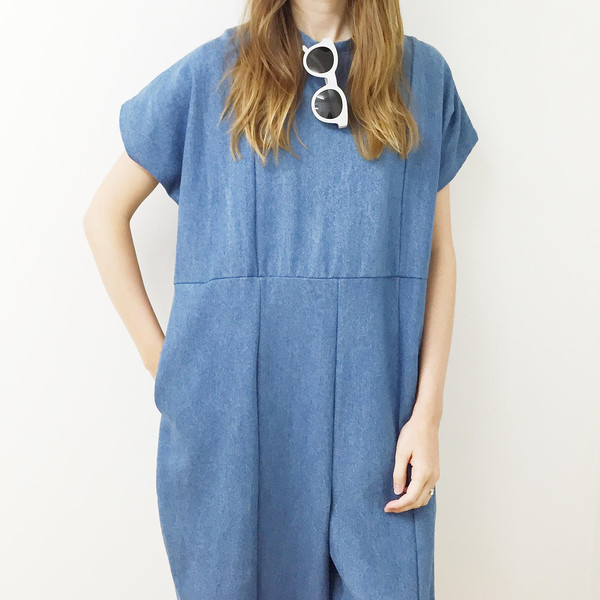 the general public Denim Jumpsuit