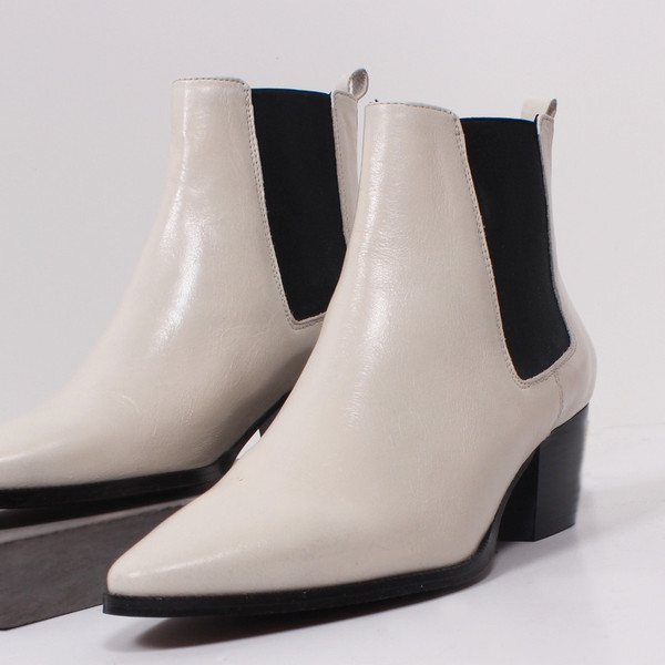L'Intervalle Gaga Chelsea Boots (Ice)