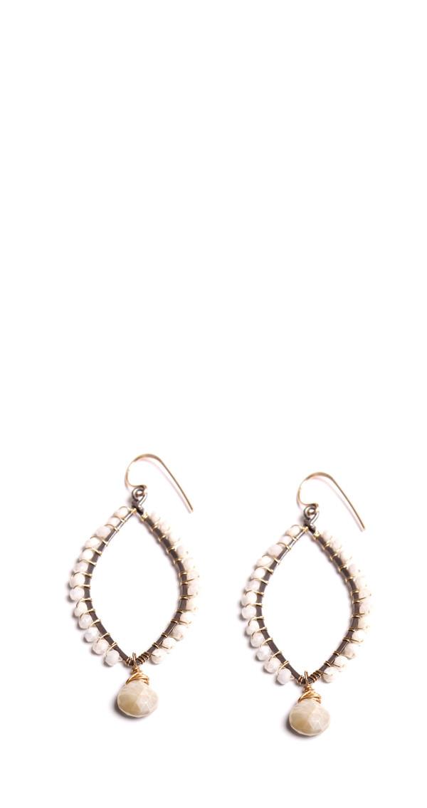 Silverite Hoop Earrings