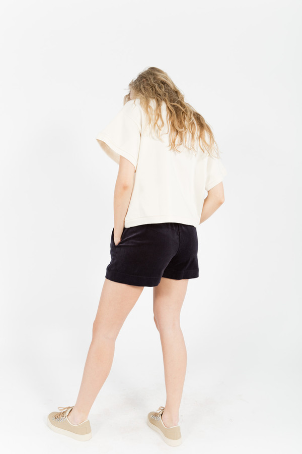 Berangere Claire Corduroy Shorts