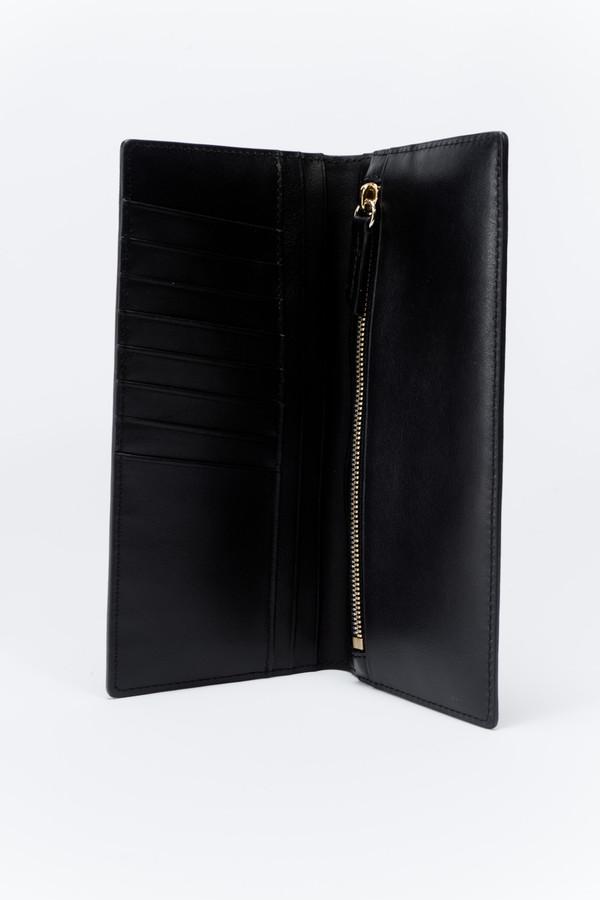 WANT Les Essentiels de la Vie Fleming Vertical Wallet Jet Black