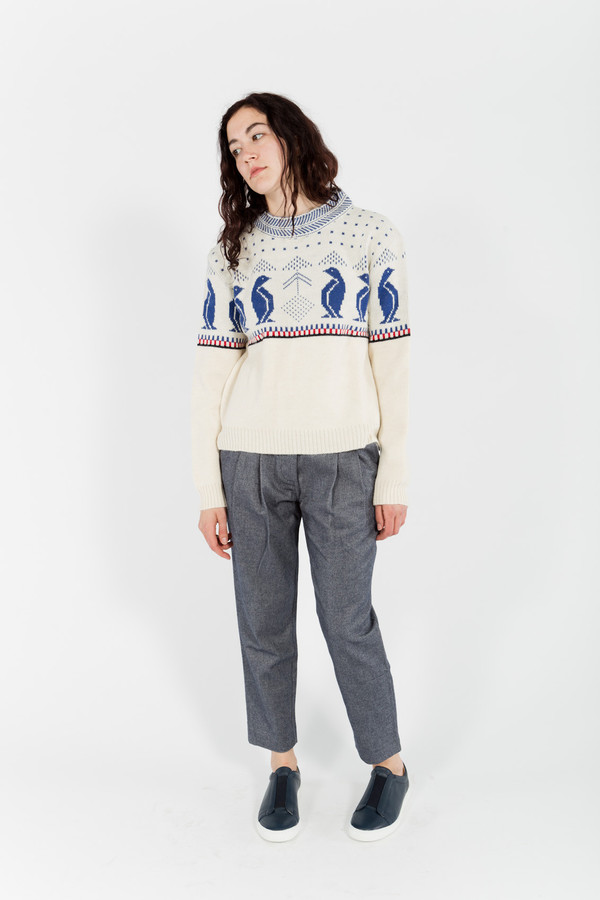 Le Mont St. Michel Penguin Sweater