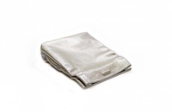 Marie Turnor Snak Clutch - Metallic Gold