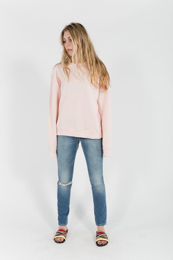 Eckhaus Latta Pink Sweatshirt