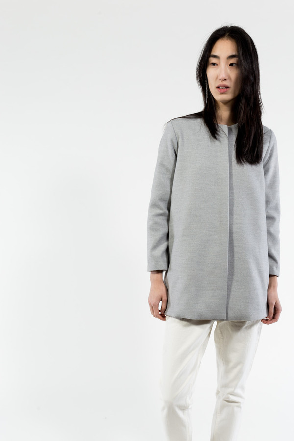 KAAREM Round Neck Jacket