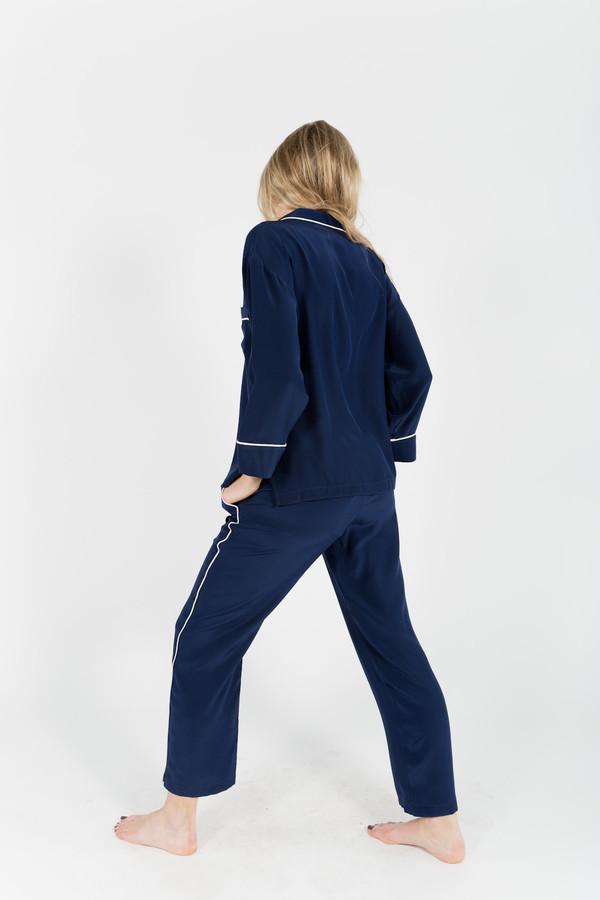 Sleepy Jones Silk Marina Pajama Pants