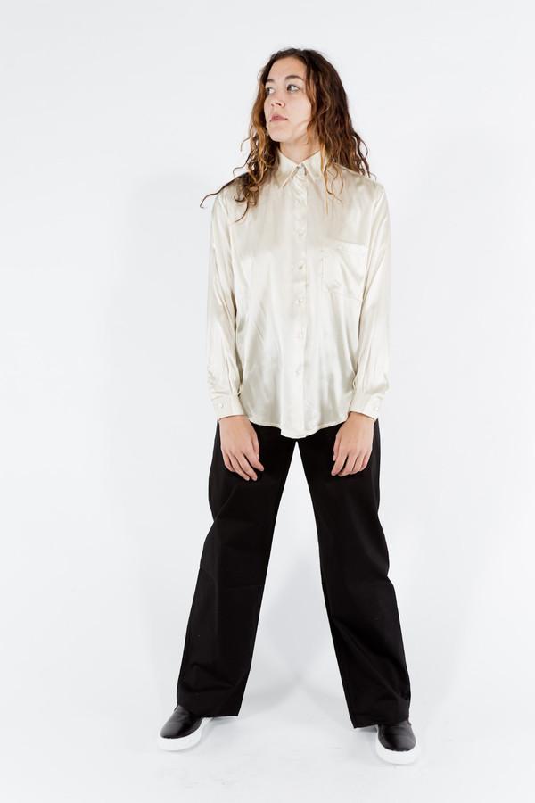 Baserange Silk Satin Shirt