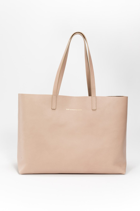 WANT Les Essentiels de la Vie Strauss Tote Metallic