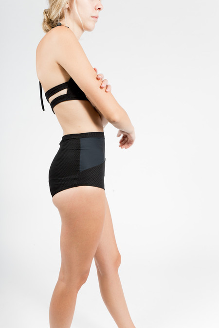 Hackwith Design House Swim High Waisted Bottom