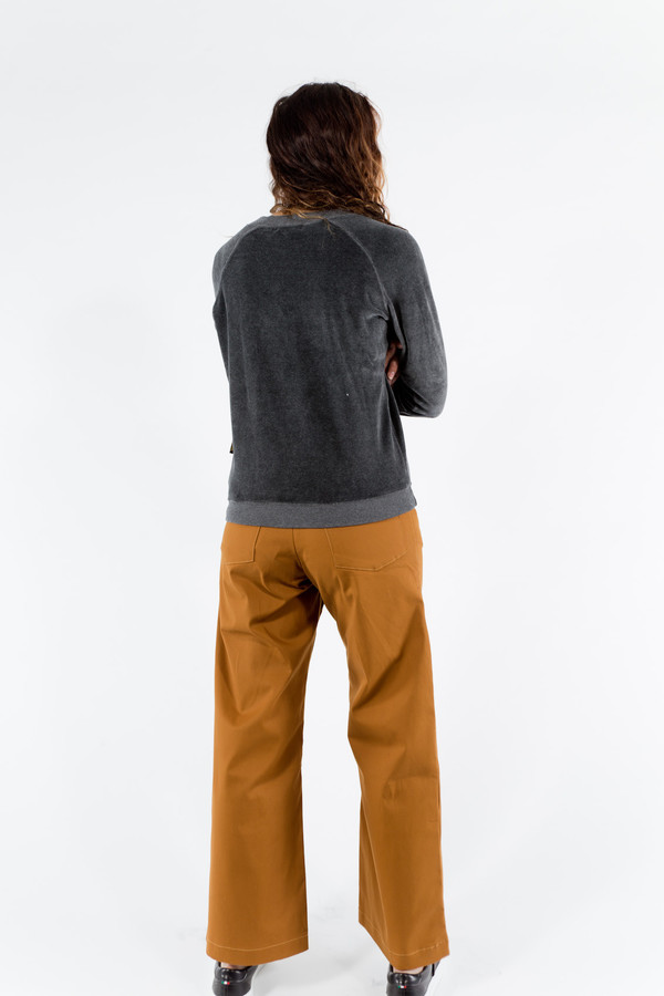 Le Mont St. Michel Velour Sweatshirt