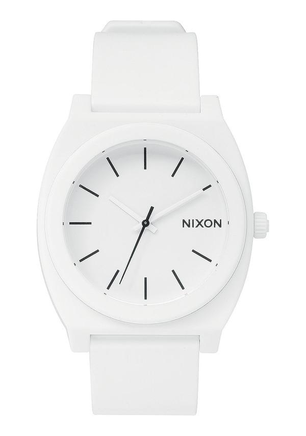 Nixon Time Teller P Matte White