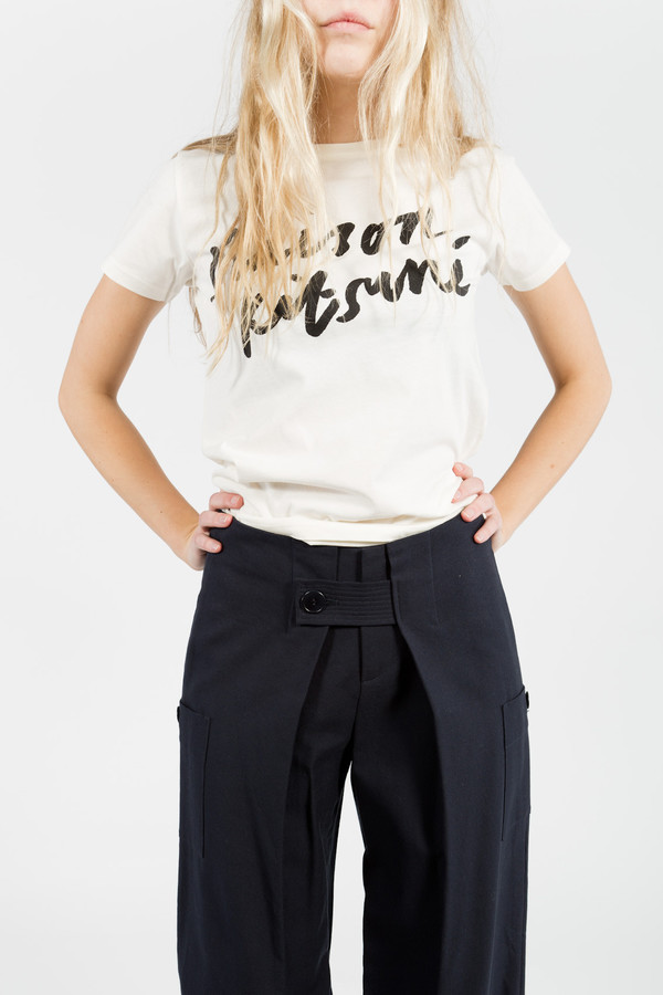 Band of Outsiders Wide Leg Pants