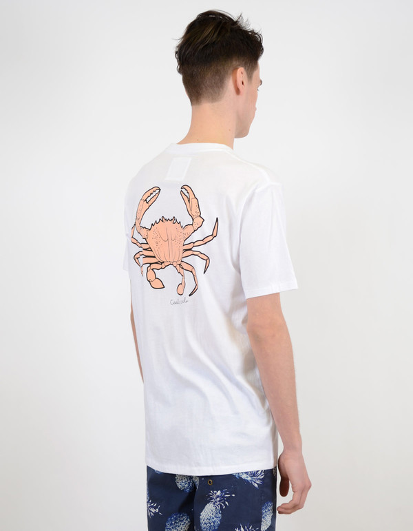 Men's Barney Cools Homie Crab Tee Shirt White