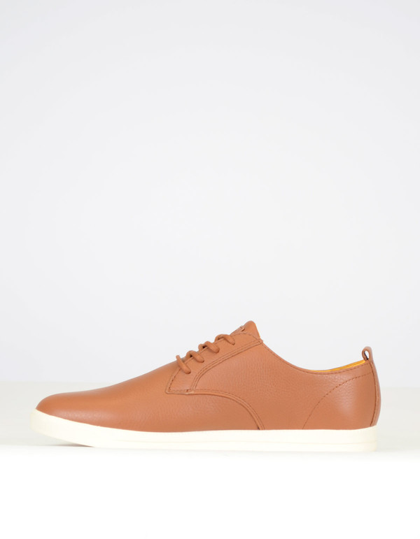 Clae Men's Ellington Leather Grizzly Tumbled Leather
