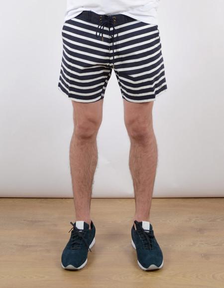 Men's Deus Indigo Stripe Boardshort Indigo