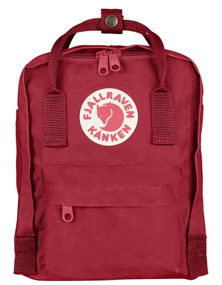 Fjallraven Kanken Mini Backpack Deep Red