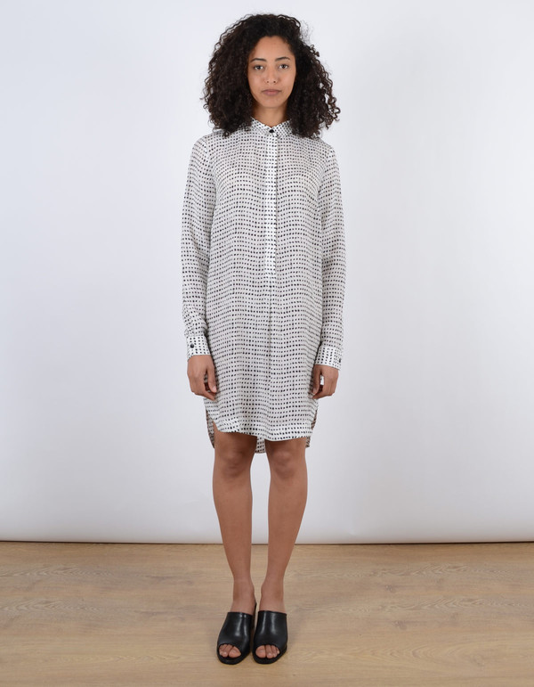 Just Female Dorothea Shirt Dress Aop White
