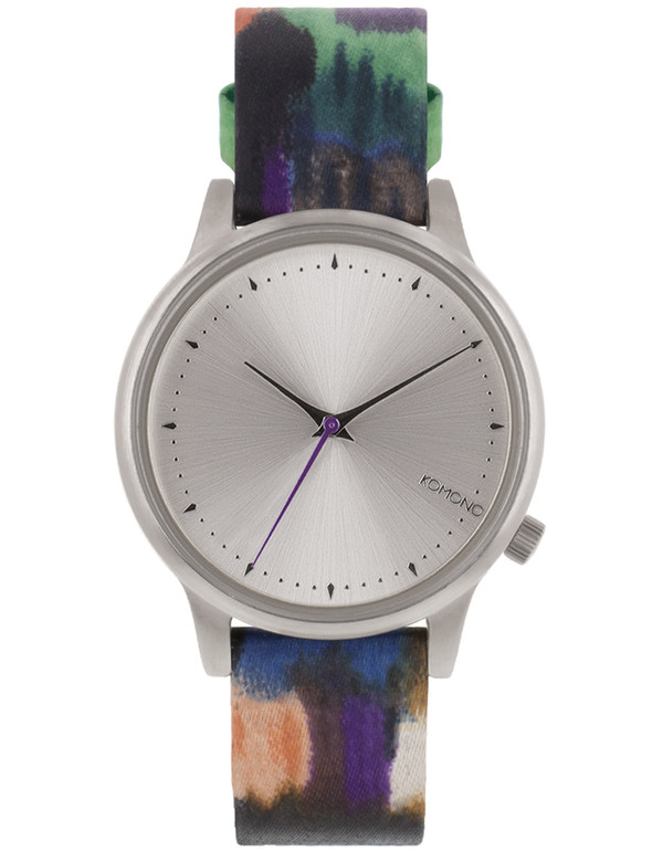 Komono Estelle Aquarelle Watch Blue
