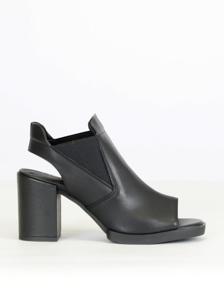 Miista Piper Cut Out Heel Black