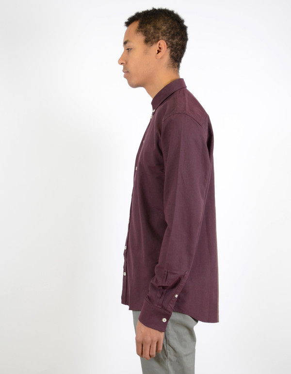 Minimum Chris Shirt Bordeaux