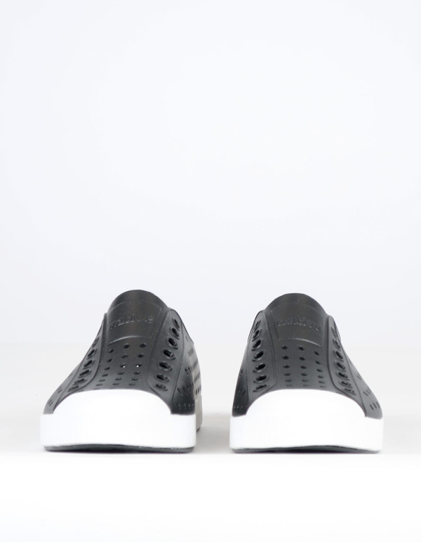 Native Shoes Native Jefferson Jiffy Black with Shell White