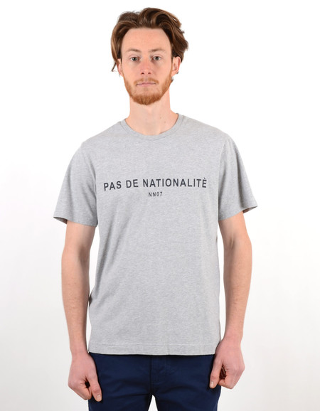 Men's No Nationality Elmer Print Tee Grey