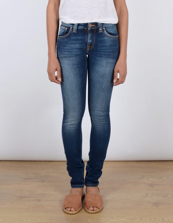 Nudie Skinny Lin Navy Shade