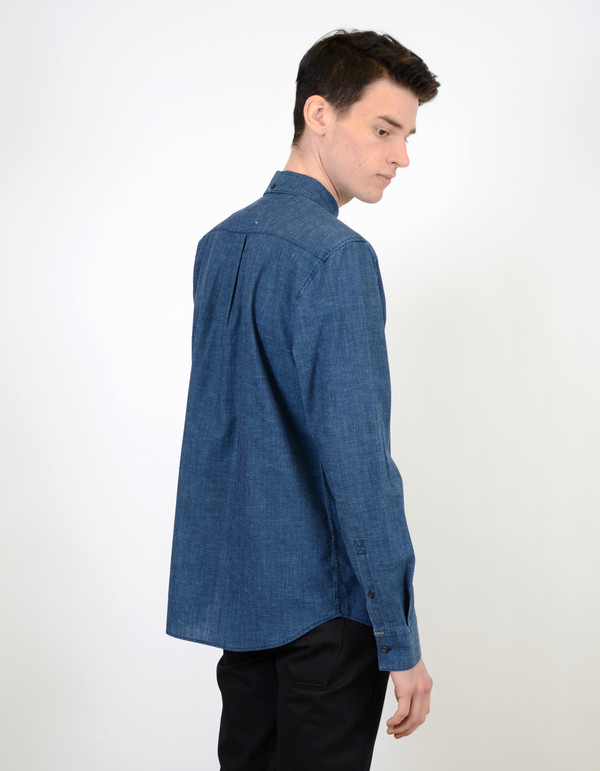 Nudie Stanley Shirt Deep Blue