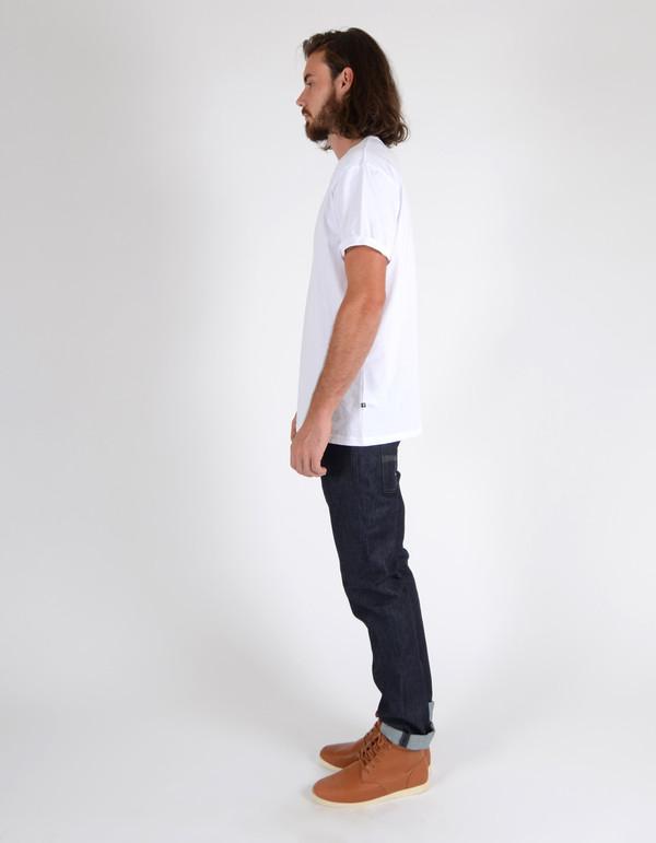 Men's Nudie Thin Finn Organic Dry Dark Grey