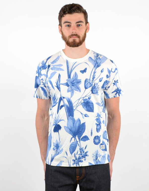 Men's Penfield Wilson Botanical Tee Blue