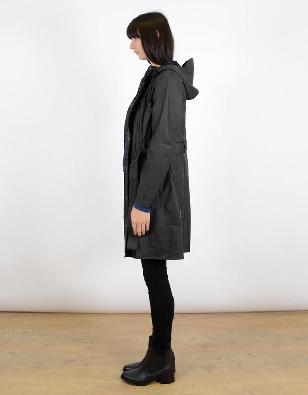 Rains Curve Jacket Black