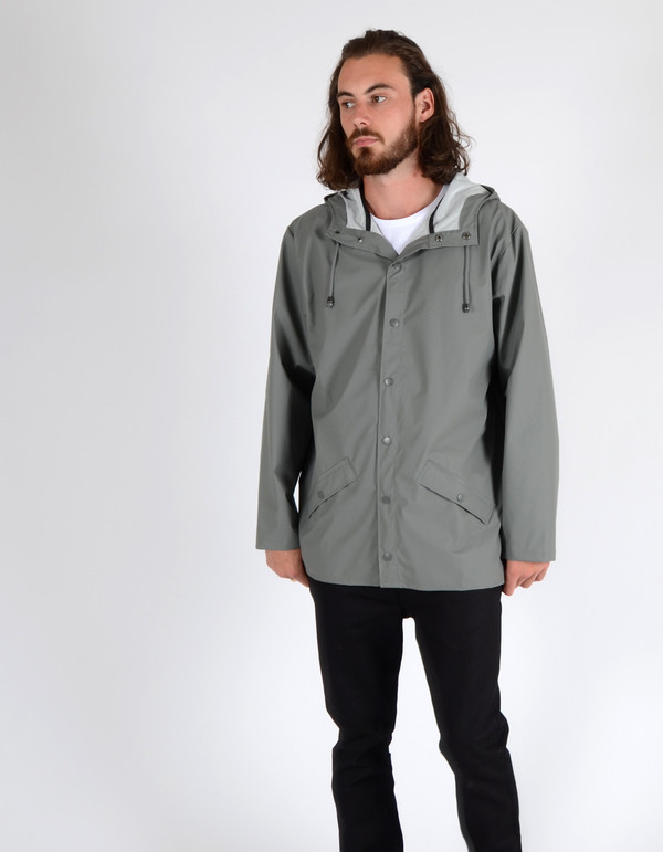 Men's Rains Jacket Grey