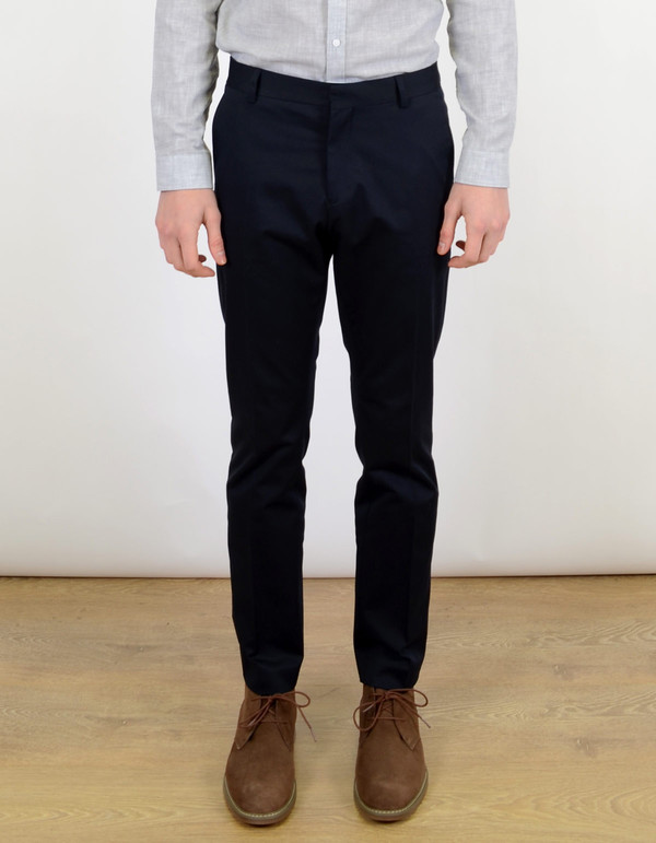 Men's Selected Homme Buffalo Ray Trouser Navy