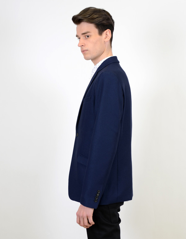 Men's Selected Homme Willis Blazer Blue Depths