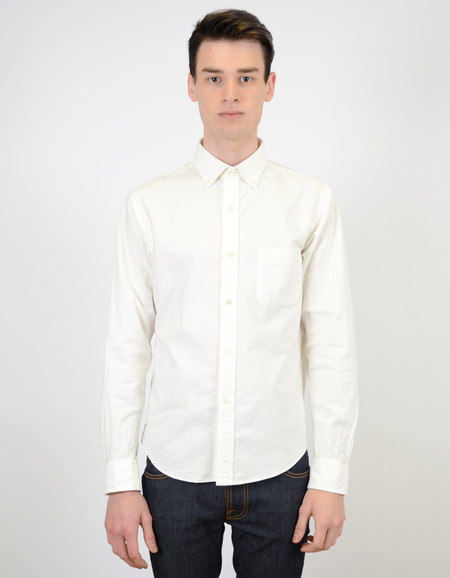 Men's Shuttle notes Shuttlenotes CS Officer Shirt White