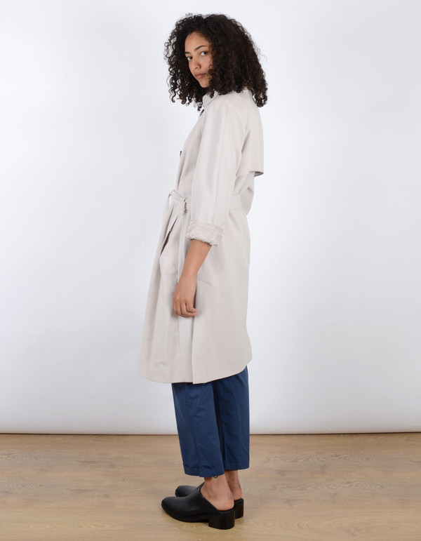 Storm & Marie Haya Trench Silver Cloud