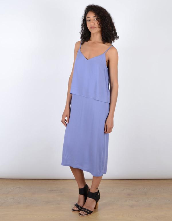 Storm & Marie Lucca Long Dress Lavender Violet