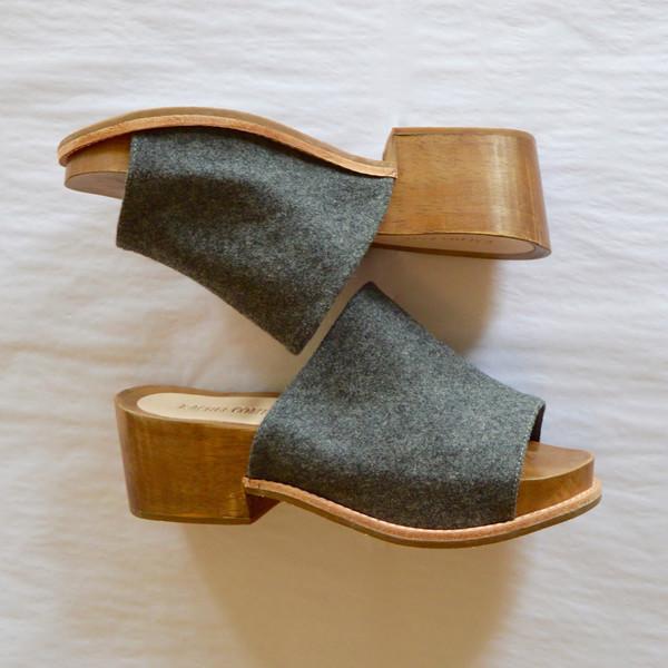 Rachel Comey Dover Sandal in Grey Flannel
