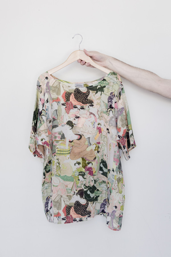 Strathcona Silk Japanese Lover Shirt