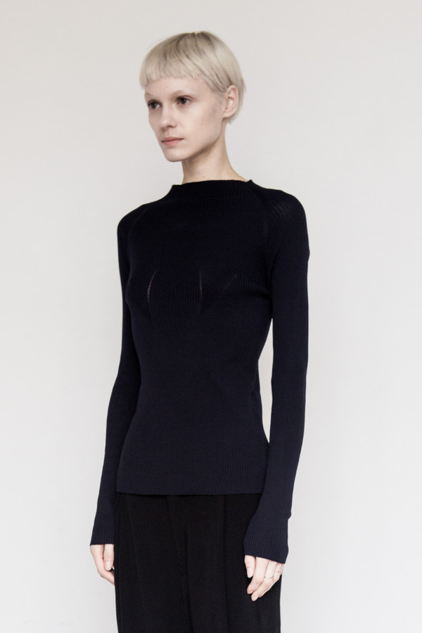 Kallmeyer Viscose High Neck Jumper
