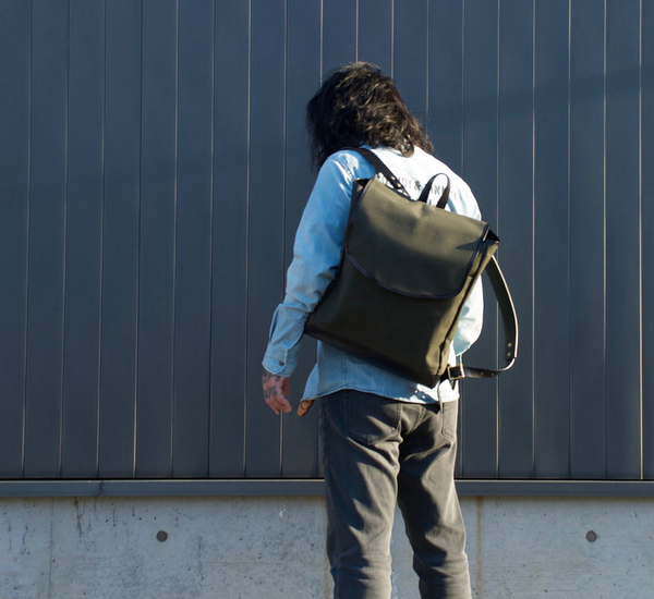 Southern Field Industries Forest and Black San Francisco Rucksack