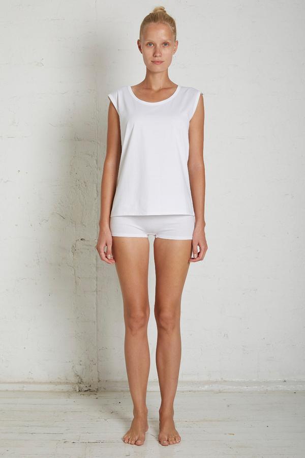 Handvaerk White Lounge Shirt
