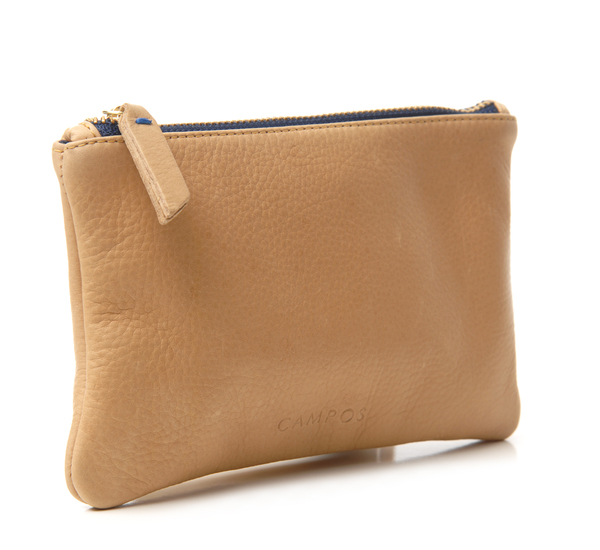 Campos Small Clutch In Nutmeg